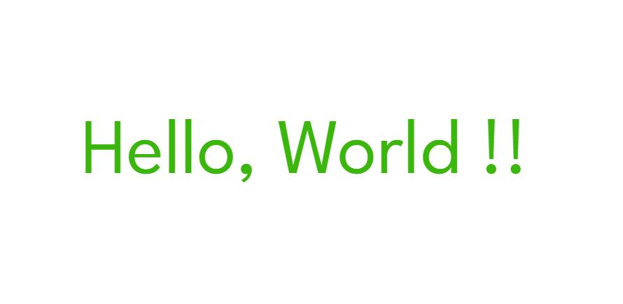 バリアブルフォント(Variable Font)を使用した簡単なhtml