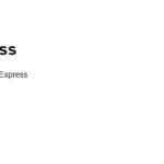 CentOs8に expressをインストールしてHello Worldまでしてみる