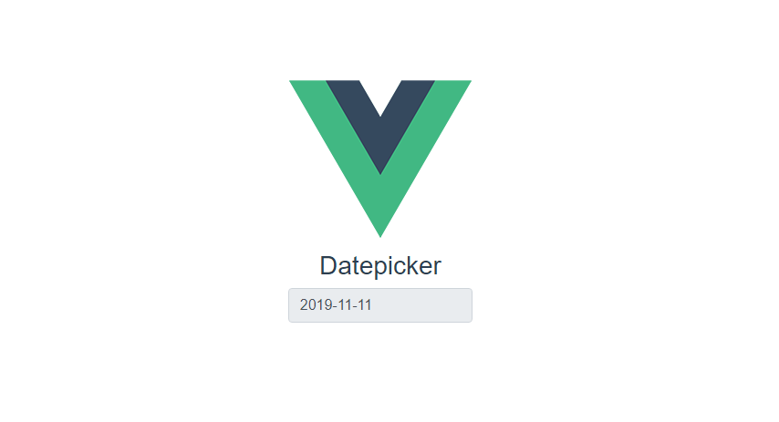 Vue.js vuejs-datepickerを利用してカレンダーから日付選択を可能にする