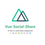 Nuxt.js vue-social-shareを使用してSNSボタンを実装する
