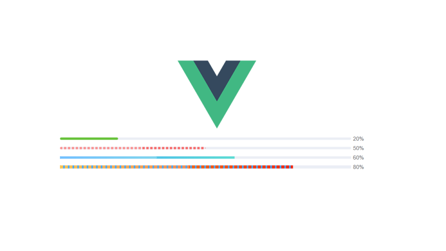 Vue.js k-progressを使用してプログレスバーを実装する