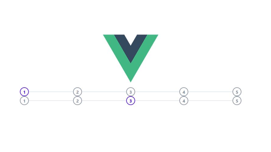 Vue.js vue-step-indicatorをインストールしてステップインジケーターを実装する手順