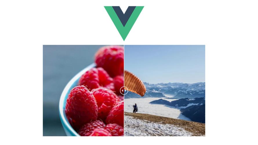 Vue.jsのライブラリvue-compare-imageをインストールして画像を2分割して表示する
