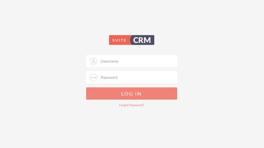Dockerを利用してOSSのCRM(顧客管理)である「SuiteCRM」を構築する
