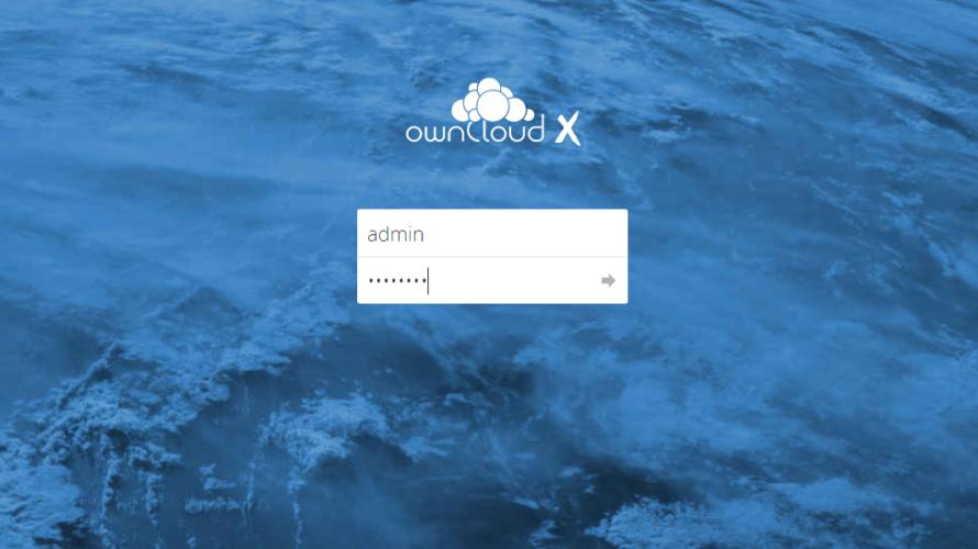 dockerを使用して「owncloud」を構築する
