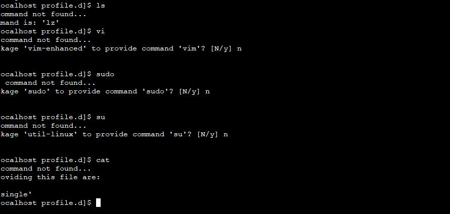 CentOS8 ほとんどのコマンドが実行できなくなった場合