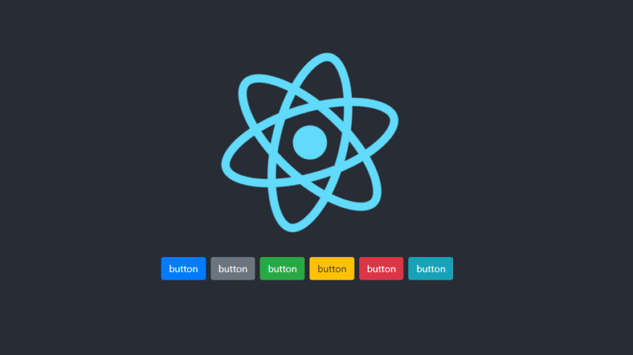 React.js react-bootstrapでのbootstrapの利用手順