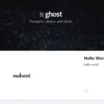Dockerを使ってブログに特化した軽量なCMS「ghost」を構築する