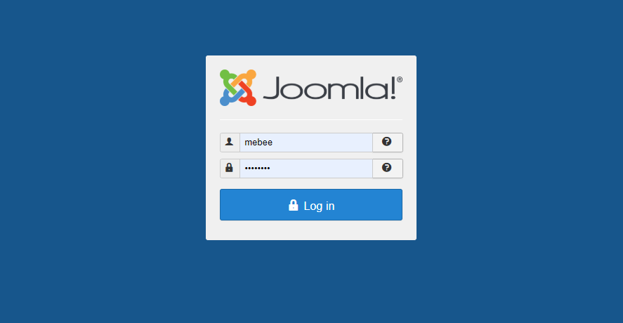「Joomla(ジュームラ)」テンプレートを追加する