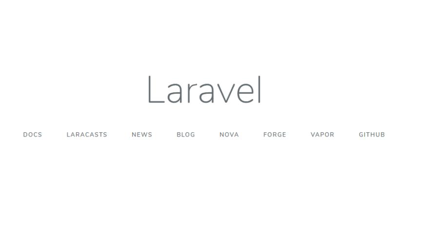 Windows10 Laravel 7をインストールして実行する