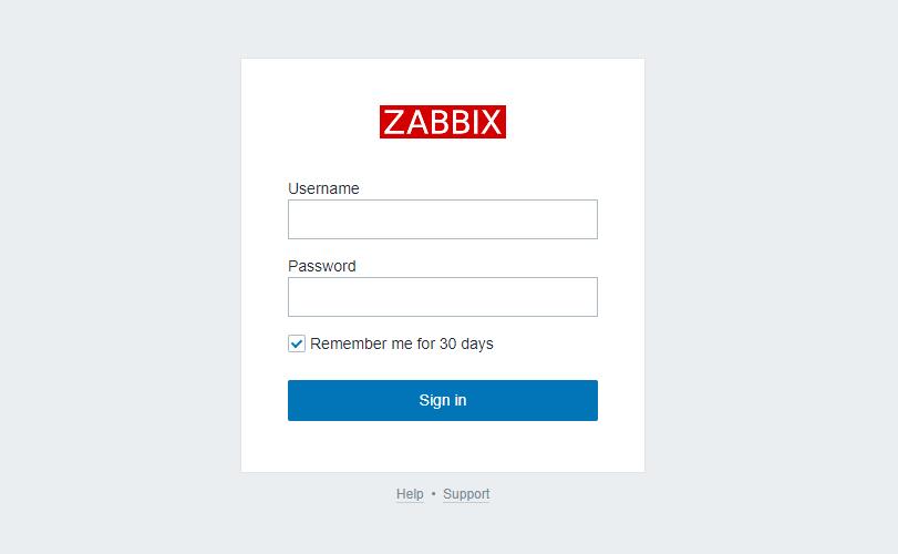 docker composeを使ってサーバー監視ツール「zabbix」を構築する