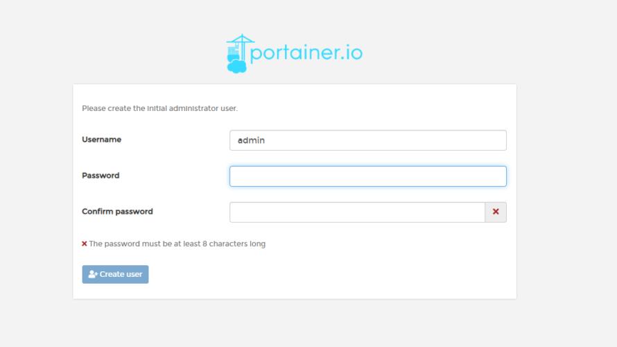 CentOs8 dockerをGUIで管理できる「Portainer」をインストールする
