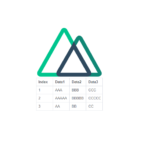 Nuxt.js ライブラリ「vue-table-dynamic」を使用してテーブルを実装する