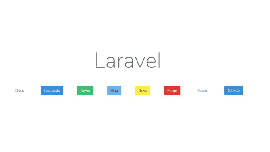 Laravel7 bootstrapの使い方