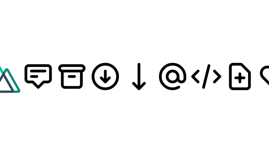 Nuxt.js ライブラリ「vue-heroicons」をインストールしてSVGアイコンを利用する