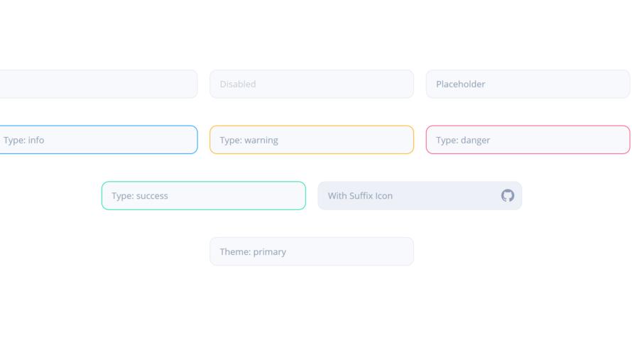 Nuxt.js ライブラリ「vue-eva-input」を使用してデザイン性の高い入力フォームを実装する