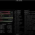 CentOs8 リソースモニター「bashtop」をインストールして利用する