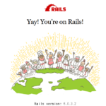 Rails rootに表示するページを設定する手順