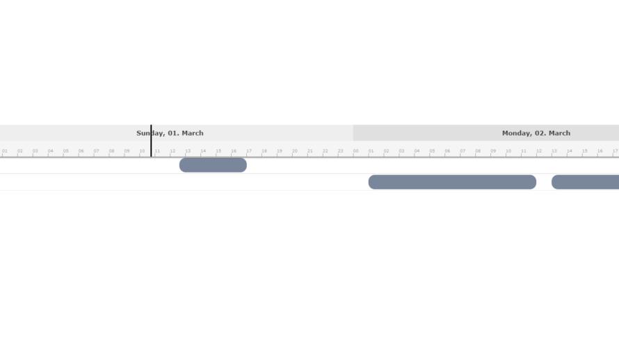 Nuxt.js ライブラリ「vue-ganttastic」をインストールしてガントチャートを実装する