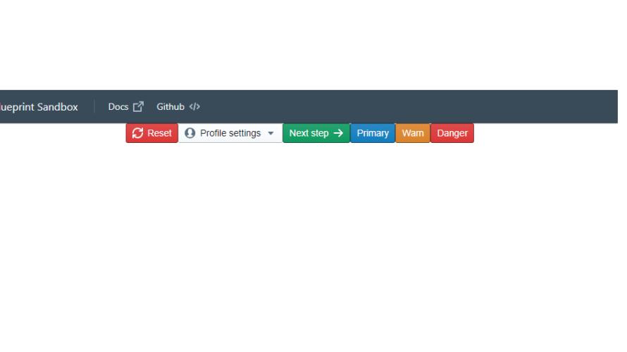 React.js UIコンポーネント「Blueprint」をインストールして使用する