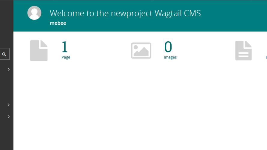 ubuntu20.04.1 cms「wagtail」を構築する手順