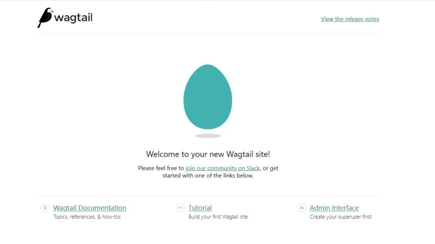 python製フレームワーク「wagtail」を「Nginx」+「gunicorn」で動かす手順