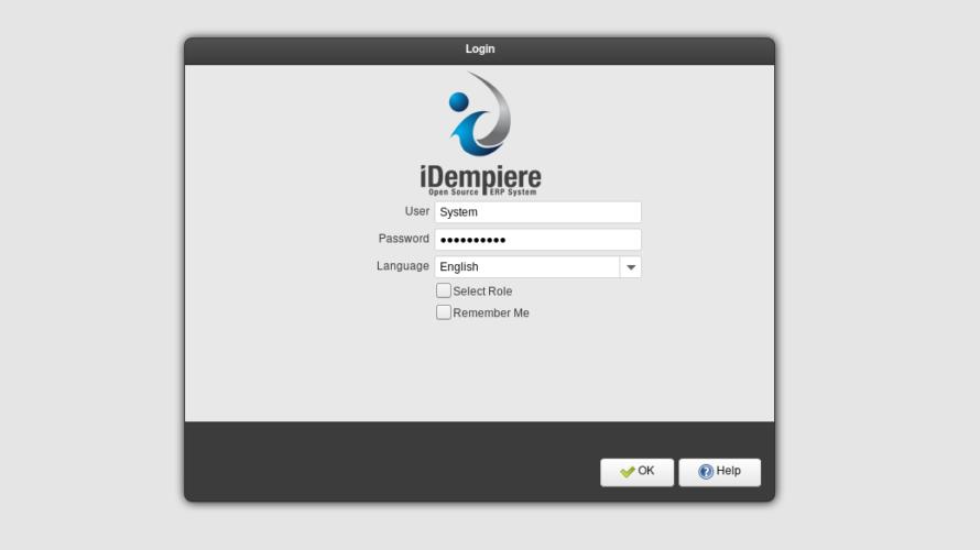 docker-composeを利用してidempiereを構築する