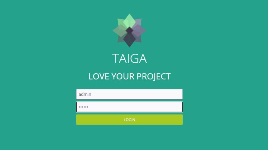 docker composeを利用して「Taiga」を構築するまでの手順