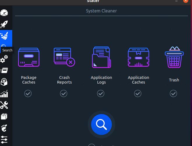 ubuntu20.04.1 Stacerをインストールする