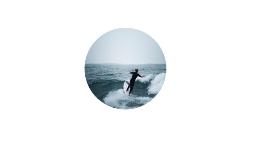 html clippathを使用して画像を円形に切り抜く