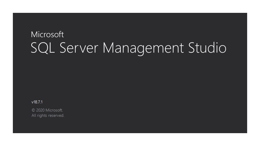 SQL Server Management Studio(SSMS) からテーブルを作成する