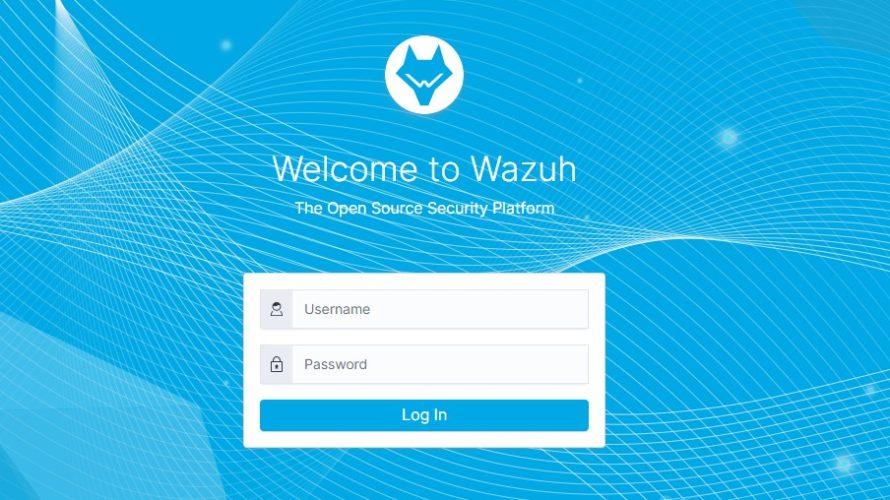 docker composeで「Wazuh Server」を構築する